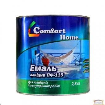 Изображение Эмаль Комфорт ПФ-115 белая 2,8 кг купить в procom.ua