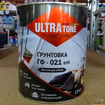 Изображение Грунт ГФ-021 ULTRA TONE 2,8кг красно-коричневый купить в procom.ua