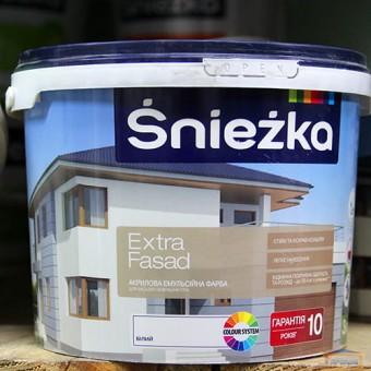 Изображение Краска Экстра фасад Снежка 1л купить в procom.ua