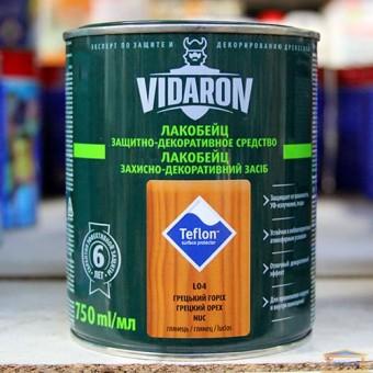 Изображение Лак для дерева Видарон 0,75л грецкий орех купить в procom.ua