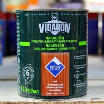 Изображение Лак для дерева цветной Видарон 0,75л тик натуральный купить в procom.ua