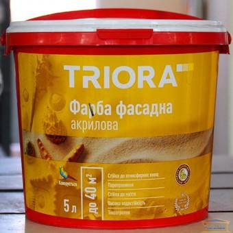 Изображение Краска фасадная акриловая НТ Триора 5л купить в procom.ua