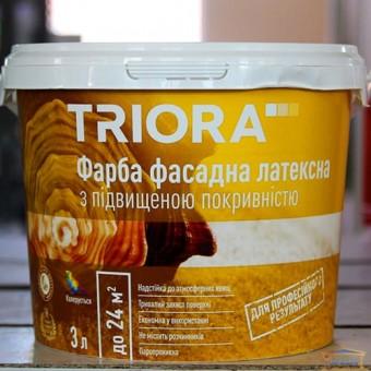 Изображение Краска фасадная латексная НТ Триора 3л купить в procom.ua