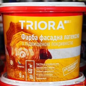 Изображение Краска фасадная латексная НТ Триора 5л купить в procom.ua