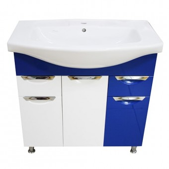 Изображение Тумба Гренада Изео 85 Т16 синяя купить в procom.ua