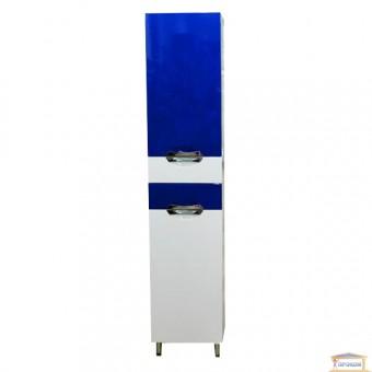 Изображение Пенал для ванны Гренада 40 левый синий купить в procom.ua