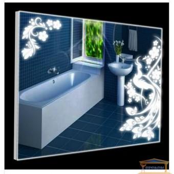 Изображение Зеркало Р-8 со светодиодной подсветкой в алюминиевой раме 600*800