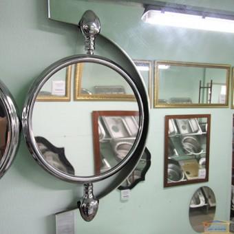 Изображение Зеркало с лампой и увеличителем 80*60 KND 1031 купить в procom.ua