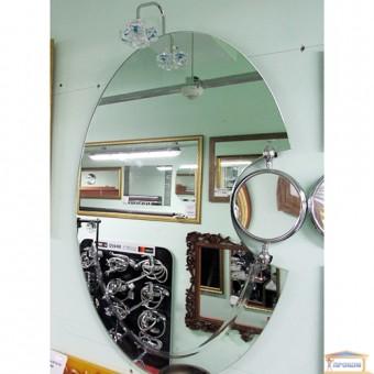 Изображение Зеркало с лампой и увеличителем 85*60 KND 1018 купить в procom.ua