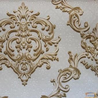 Изображение Обои флизелиновые Регина декор VIP5-0431 (песочно-золотой) 1*10 м купить в procom.ua
