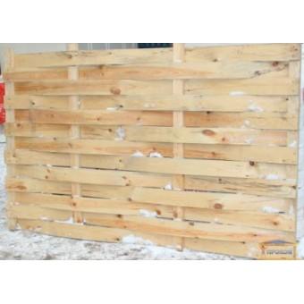Изображение Секция заборная деревянная №5  1,2*2м 2,4м.кв. купить в procom.ua