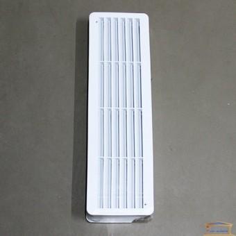 Изображение Решетка вентиляционная для дверей 450*130мм к-т 2шт 60-072