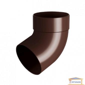 Изображение Отвод одномуфтовый 67 грд. 100 коричневый