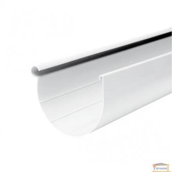 Изображение Желоб 130 белый (3м)
