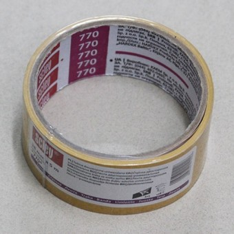Изображение Лента двусторонняя 770*, 38мм*5м, на пленке РР 0310-700538 купить в procom.ua