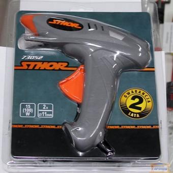 Изображение Пистолет термоклеевой YATO 35/400Вт YT-82401 купить в procom.ua