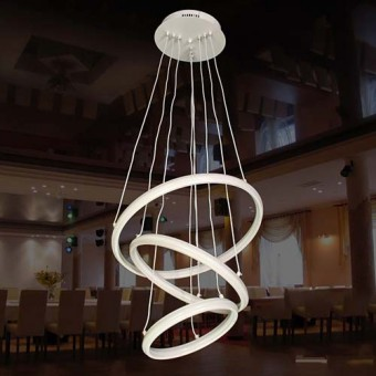 Изображение Люстра светодиодная M D 2005/3 WH Dimmer купить в procom.ua