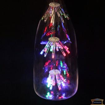 Изображение Лампа дизайнерская LED D100-SSB-HTD*246 3w RGB купить в procom.ua