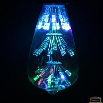 Изображение Лампа дизайнерская LED ST64-SSB-HTD*146 3w RGB купить в procom.ua