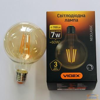 Изображение Лампа Эдисона G-95 LED  7W E27 2200 K диммерная Filament