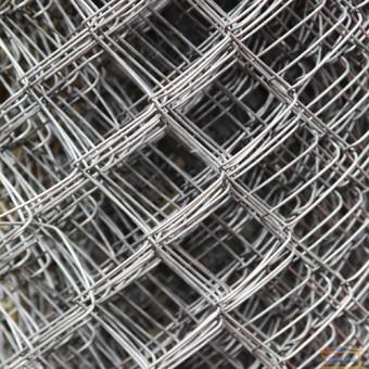 Изображение Сетка рабица 1,5*10 оцинкованная 1,6*35*35мм купить в procom.ua