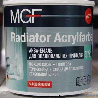 Изображение Аква-эмаль для радиаторов MGF 0,75л Acrylfarbe купить в procom.ua