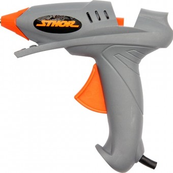 Изображение Пистолет термоклеевой VOREL 100Вт стерж 11мм 73052 купить в procom.ua