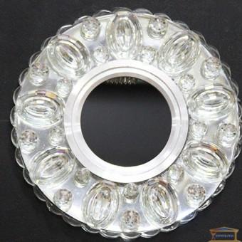 Изображение Точечный светильник с LED подсветкой 7665 ИП-WT купить в procom.ua