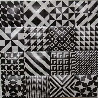 Изображение Декор Фристайл 20*20.29 5 черно-бел.объем купить в procom.ua