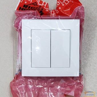 Изображение Выключатель 2-кл. белый внутр.прох.RH VELENA (HN-011181) купить в procom.ua