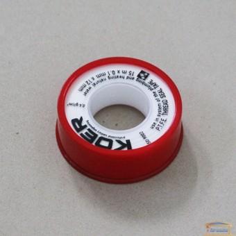 Изображение Фум-лента 12*0.1*15 KOER STP-01 вода купить в procom.ua