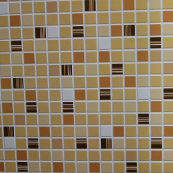 Изображение ПВХ панель Мозаика Кофе коричневый 956*480 мм купить в procom.ua