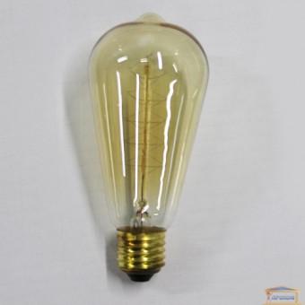 Изображение Лампа Эдисона ST-64 накаливания 60 W