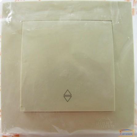 Изображение Выключатель 1-кл. внутр. кремовый проходной  Right hausen velena (HN-011033) купить в procom.ua - изображение 1