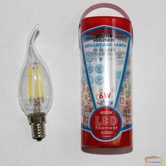 Изображение Лампа LED Right Hausen Filament СВ на ветру 6W E14 4000K (HN-264030)