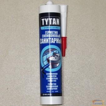 Изображение Силикон ТИТАН Euro Line санитарный белый 290мл купить в procom.ua