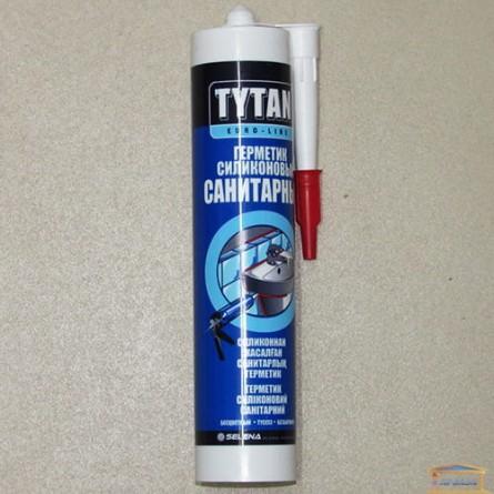 Изображение Силикон ТИТАН Euro Line санитарный прозрачный 290мл купить в procom.ua - изображение 1