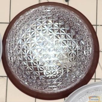 Изображение Светильник настенно-потолочный Эклектика Е-006 вишня натуральная