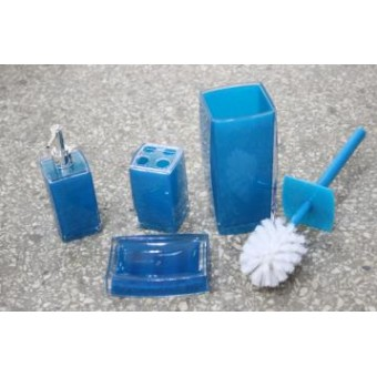 Изображение Набор аксессуаров для ванной 4 предмета акрил 8010 купить в procom.ua