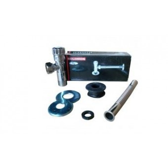 Изображение Кран-дозатор для писсуара с резиновым уплотнителем Solomon GDU-102 купить в procom.ua