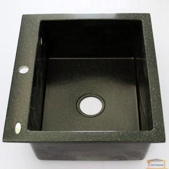 Изображение Мойка гранитная Comfort plus 520*580 idis Obsidian 508 купить в procom.ua