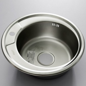 Изображение Мойка для кухни Крафт 490E (0,6мм) матов