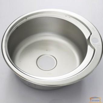 Изображение Мойка для кухни DELFI 510мм (08/180) матовая