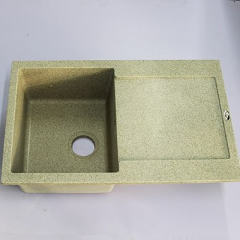Изображение Мойка гранитная Carex 780*500 Idis Pebble 070 купить в procom.ua