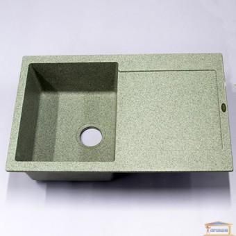 Изображение Мойка гранитная Carex 780*500 Idis Fashion Gray 310 купить в procom.ua
