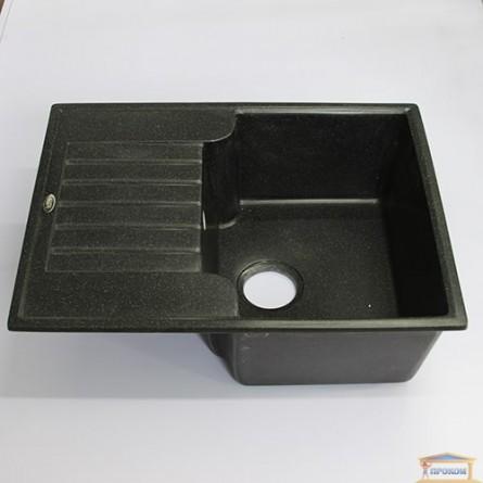 Изображение Мойка гранитная Romania 500*650 idis Obsidian 508 купить в procom.ua - изображение 1