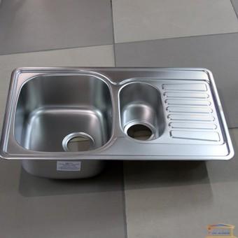 Изображение Мойка для кухни Крафт 7848 PD (0,8 мм) декор купить в procom.ua