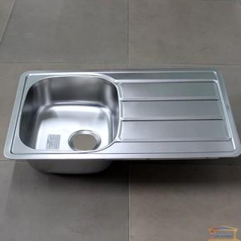 Изображение Мойка для кухни Крафт 402F (780*480) (0,6мм) декор купить в procom.ua