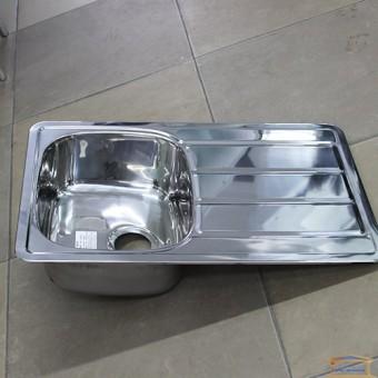 Изображение Мойка для кухни Крафт 402P (780*480) (0,8мм) глянец