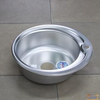 Изображение Мойка для кухни Крафт K 510E (0,6/180мм) матовая
